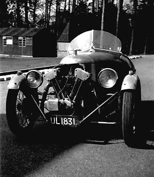 Michael Buck's old Moggie